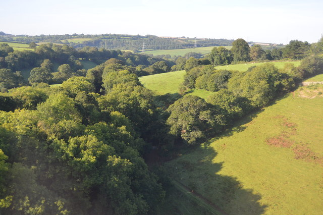 East Looe River valley