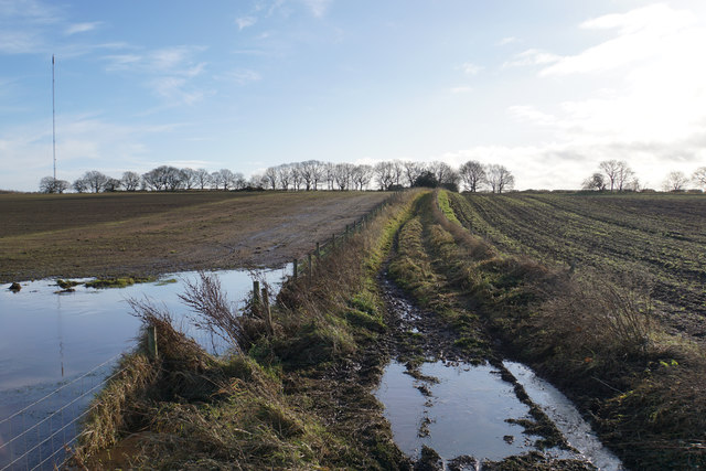 A soggy part of the Heart of England Way