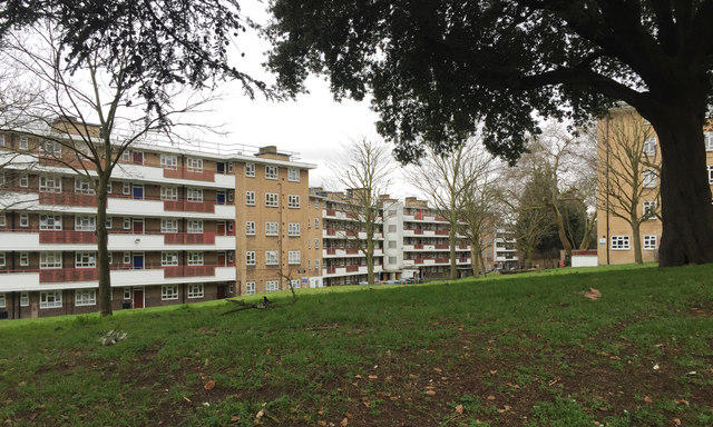 Birdsall House and Holderness House, Champion Hill Estate, Camberwell, London