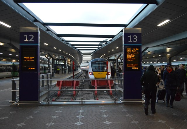 Platforms 12 & 13, London Bridge Station