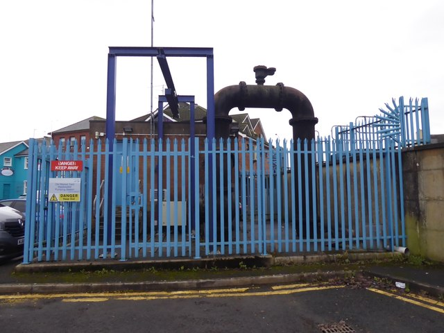 Pumping station, Market Place car park, Omagh