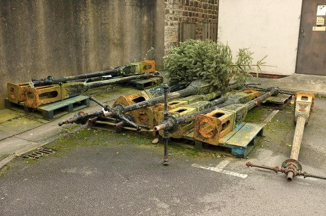 Old lamp posts, Harrogate