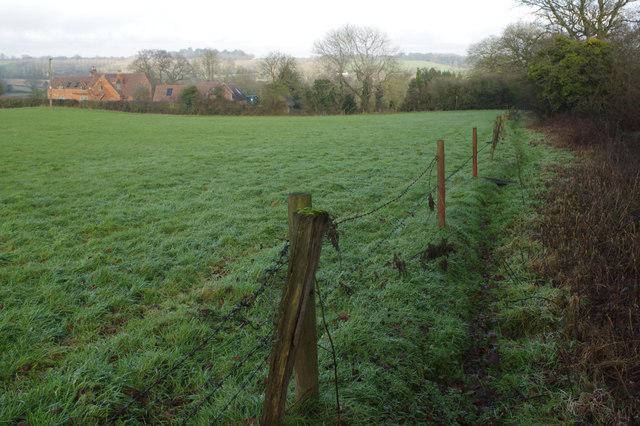 Bridleway to Danzey Green Lane