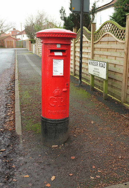 Postbox, Windsor Road, Harrogate