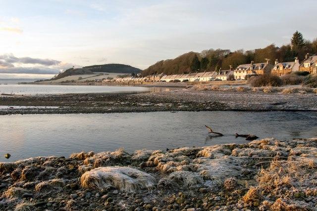 A frosty morning at Avoch Bay