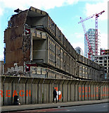 TQ3880 : Demolition of Robin Hood Gardens, Cotton Street by Stephen Richards