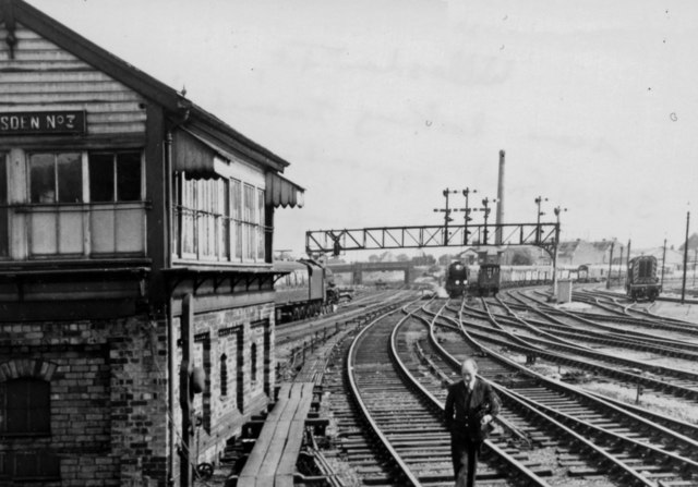 Willesden Junction, eastward to West London Junction, 1962