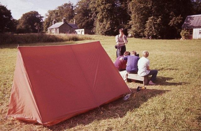Camping at Haddow Estate
