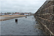 NO5603 : Harbour wall at Anstruther by Mat Fascione