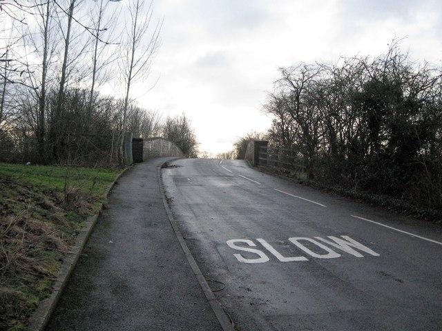 Slow for the bridge