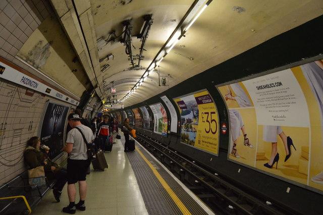 Paddington Underground Station - Bakerloo line