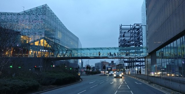 Highcross Shopping Centre in Leicester