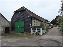 SP8800 : Barns at Andlows Farm, Prestwood by Jeremy Bolwell