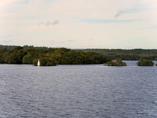 Lower Lough Erne, Rough Islands and White Cairn
