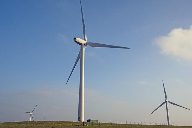 North Devon : Wind Turbines