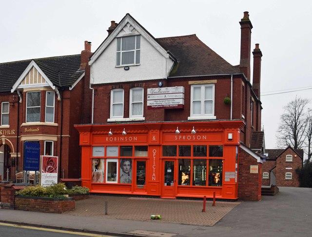 Robinson & Sproson, 143-145 Worcester Road, Hagley, Worcs
