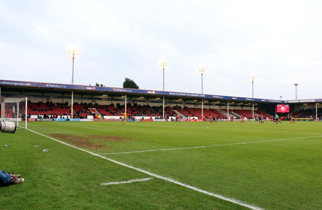 The St Francis Group Community Stand in the Banks's Stadium