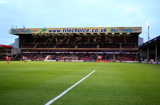 The Tile Choice Stand in the Banks's Stadium