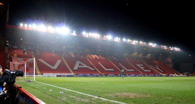 The East Stand at the Valley