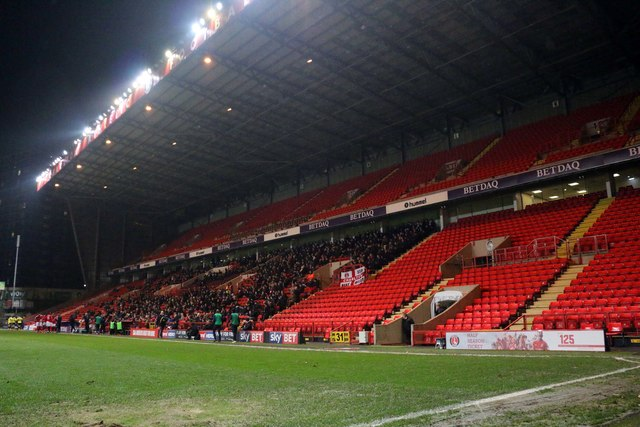 The West Stand at the Valley
