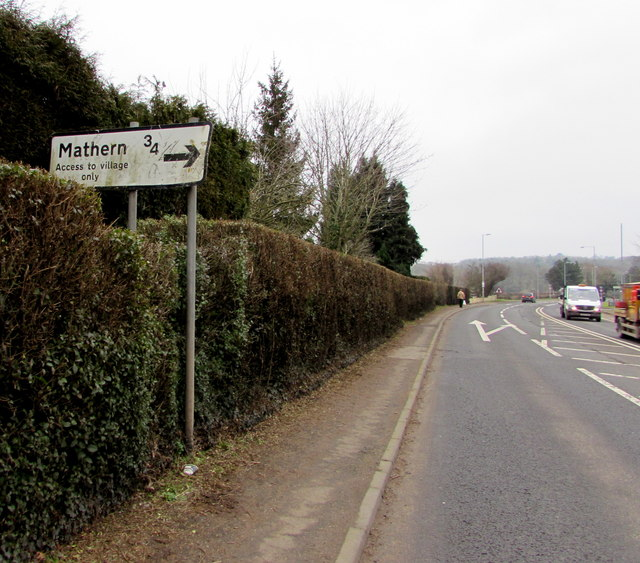 Mathern direction and distance sign