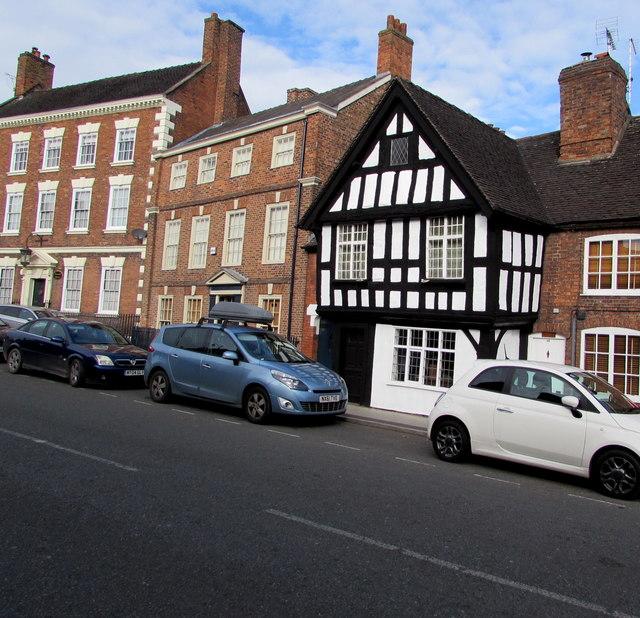 Grade II listed Tudor Cottage, Welsh Row, Nantwich