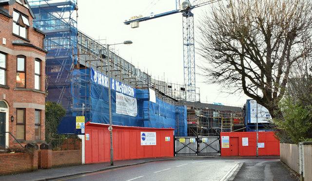 New School of Biological Sciences, Queen's University, Belfast (January 2018)