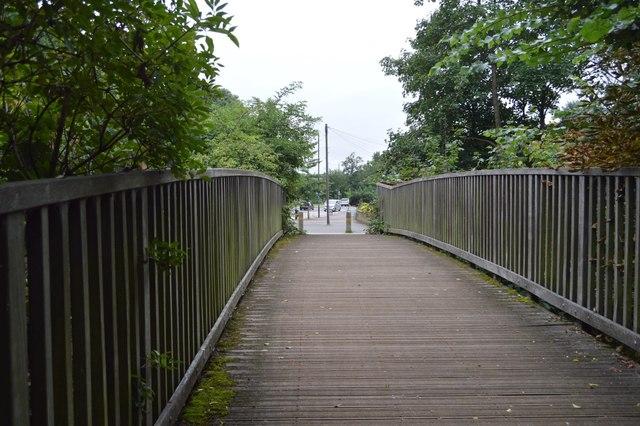 Wandle Trail footbridge