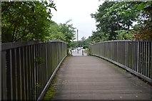TQ2767 : Wandle Trail footbridge by N Chadwick
