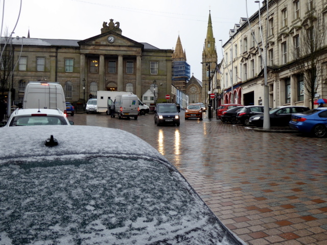 Wintry conditions, Omagh