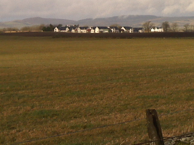 Looking towards the Ochil Hills