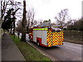 SP2511 : Oxfordshire Fire & Rescue fire engine in Burford by Jaggery