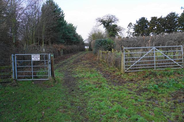 Bridleway to Lichfield