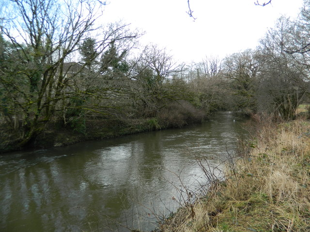 The River Ely at Brynsadler