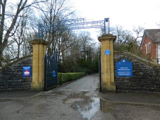 Gateway to Talygarn Manor and Country Park