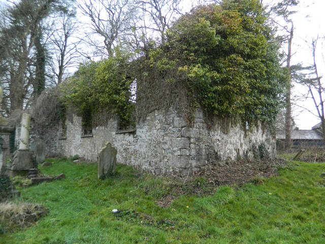 Ruins of St Anne's Chapel, Talygarn