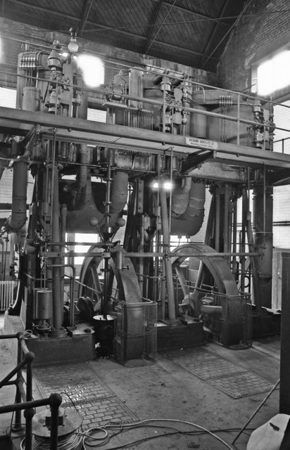 Victoria Waterworks - steam engine