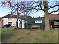 TQ7950 : 'Shop on the Green', Chart Sutton by PAUL FARMER