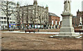 J3374 : Belfast City Hall grounds without grass (January 2018) by Albert Bridge