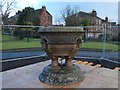 NS3975 : The Kilmahew Fountain during refurbishment by Lairich Rig