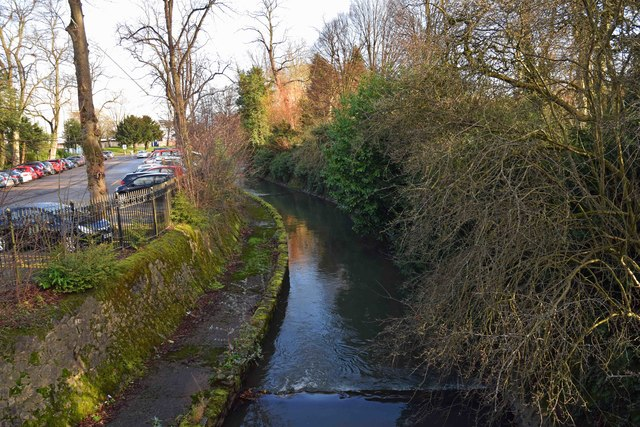 River Rea by Cannon Hill Park, Edgbaston, Birmingham