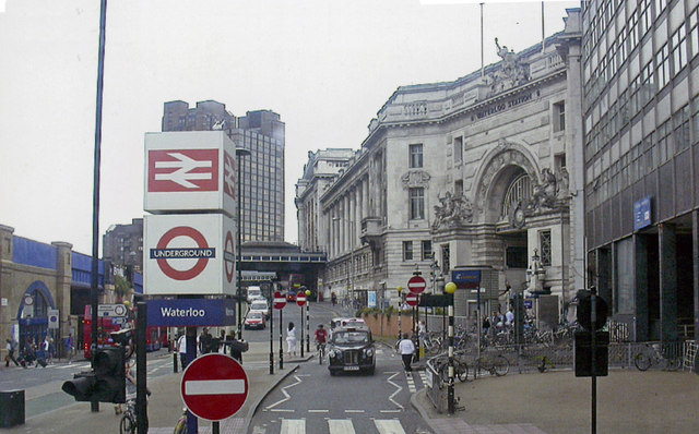 Mepham Street and Waterloo Station, 2006