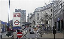 TQ3180 : Mepham Street and Waterloo Station, 2006 by Ben Brooksbank