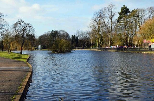 Boating Lake, Cannon Hill Park, Edgbaston, Birmingham