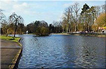 SP0683 : Boating Lake, Cannon Hill Park, Edgbaston, Birmingham by P L Chadwick