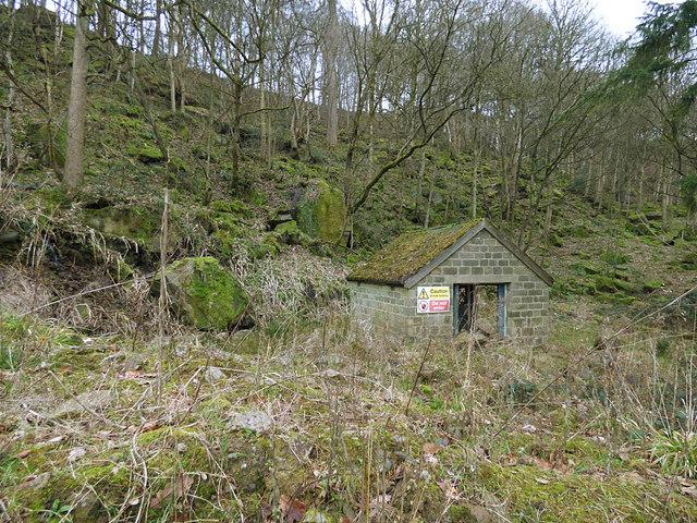 Disused quarry off Harden Road, Bingley