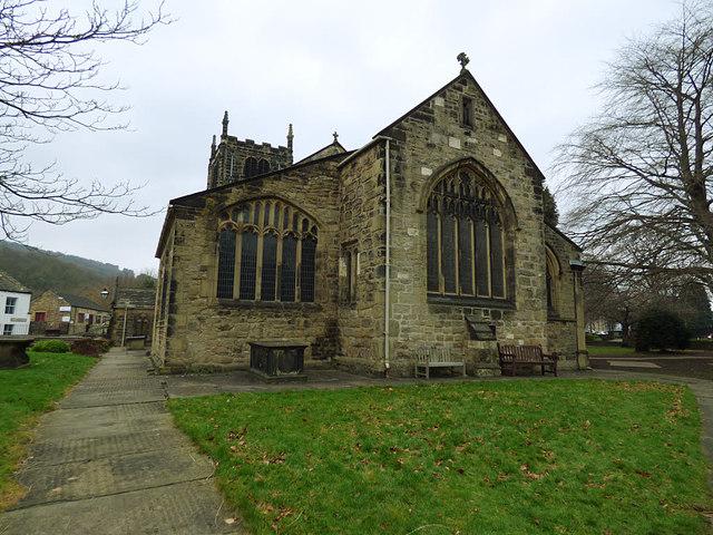 All Saints, Bingley - east end
