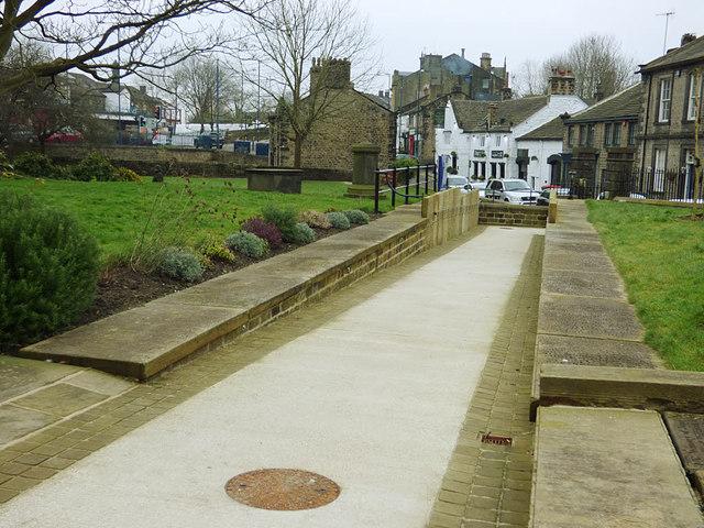 All Saints, Bingley - access ramp