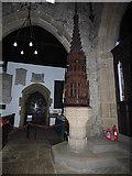 SE1039 : All Saints, Bingley - the present font by Stephen Craven