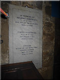 SE1039 : All Saints, Bingley - Ferrand memorial (1) by Stephen Craven